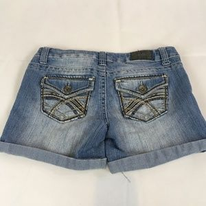 ZCO Jeans Light Wash Cuffed Shorts Siae 5